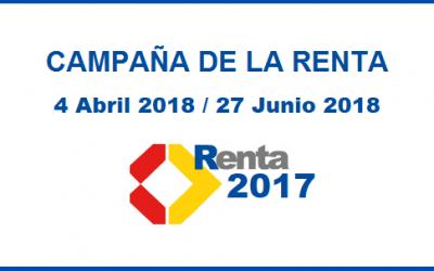 La nueva aplicación de la Campaña de la Renta 2017 podrá descargarse desde hoy.